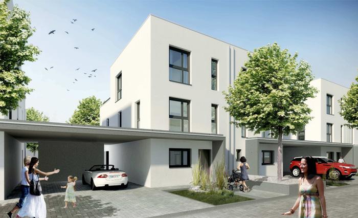 6 Doppelhaushälften, Medicusstraße
